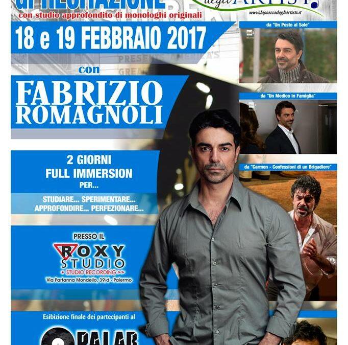 Workshop Intensivo di Recitazione il 18 e 19 febbraio 2017 a La Piazza degli Artisti (Palermo)