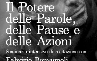 Seminario intensivo di recitazione con Fabrizio Romagnoli il 20 Febbraio 2016 a Fabriano (AN)