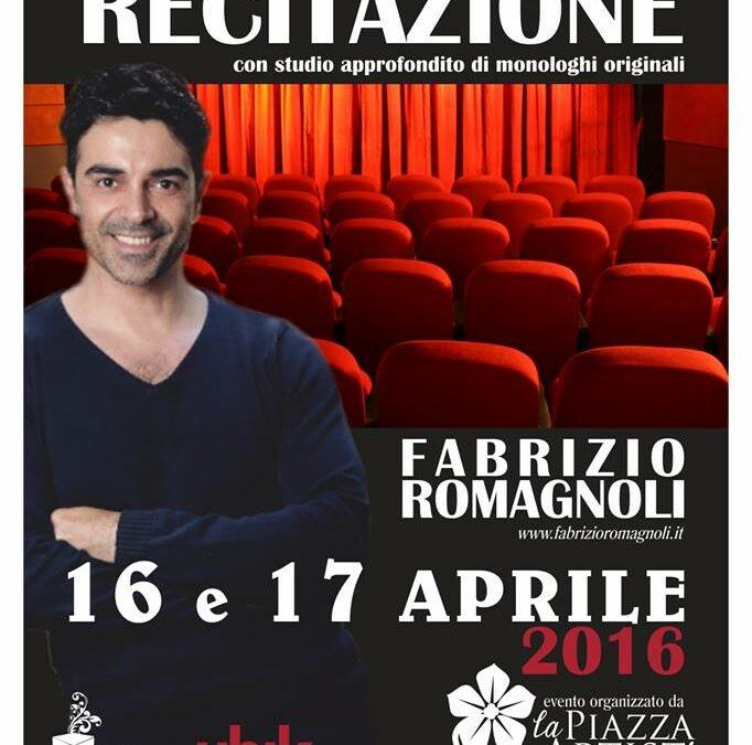 Workshop Intensivo di Recitazione il 16 e 17 aprile 2016 a Ragusa