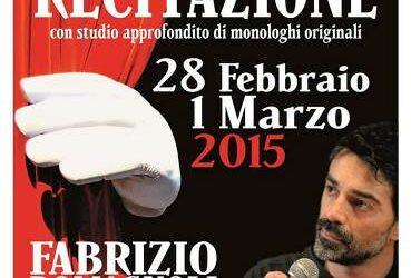 Workshop Intensivo di Recitazione il 28 febbraio e il 1 marzo 2015 a Palermo
