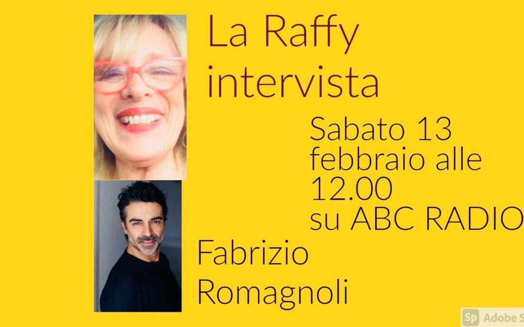 Raffaella Marchegiano intervista Fabrizio Romagnoli