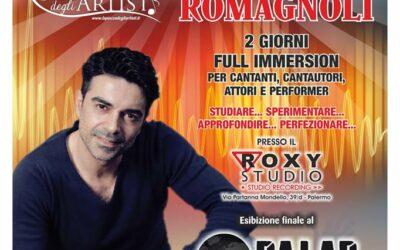 Workshop di interpretazione canora il 14 e 15 maggio 2016 a Palermo
