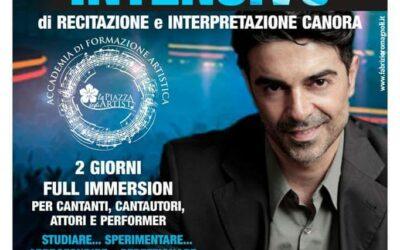 Workshop di recitazione e interpretazione canora il 26 e 27 settembre 2015 a Palermo