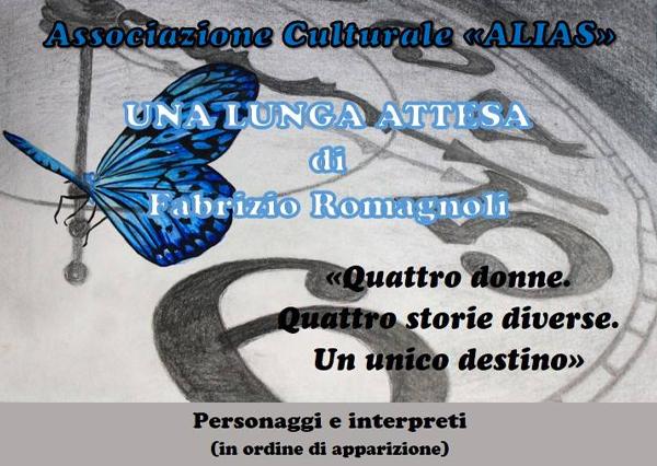 UNA LUNGA ATTESA – 24 LUGLIO 2018 ore 21:00 all'Anfiteatro Romano di Albano Laziale (RM)