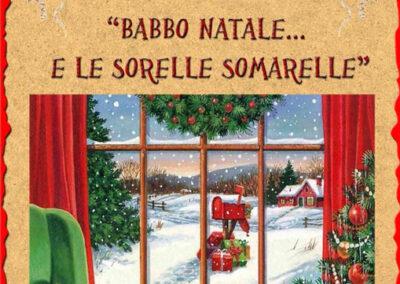 Babbo Natale e le sorelle somarelle