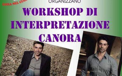 Workshop di interpretazione canora il 19 e 20 novembre 2016 a Galatina (LE)