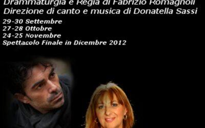 Workshop di Musical & Recitazione di Fabrizio Romagnoli, Donatella Sassi e Vittorio Mascia