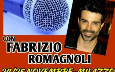 Workshop di interpretazione canora di Fabrizio Romagnoli il 24 e 25 novembre 2018 a Milazzo (ME)