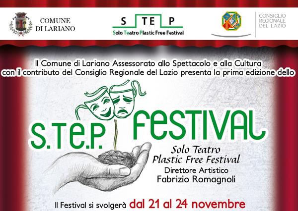 """S.TE.P. FESTIVAL """"Solo Teatro Plastic Free"""" – Prima edizione"""