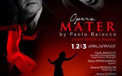 Fabrizio Romagnoli va in scena a Cipro con Opera Mater di Paolo Baiocco