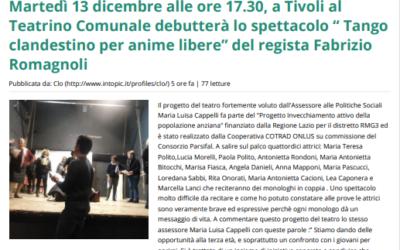 Tango clandestino per anime libere. Regia Fabrizio Romagnoli
